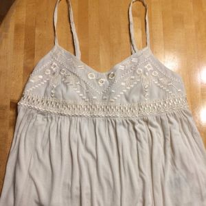 American Eagle Sleeveless Top Sz M